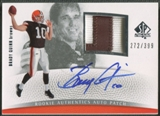 2007 SP Authentic #290 Brady Quinn Rookie Patch Auto #272/399