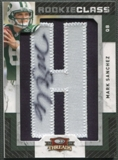 "2009 Donruss Threads #232 Mark Sanchez Rookie Letter ""H"" Patch Auto #159/175"