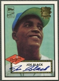 2002 Topps #JBA Joe Black 1952 Reprints Auto