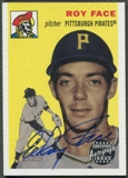 2003 Topps Heritage #RF Roy Face Real One Auto