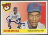 2004 Topps Heritage #EB Ernie Banks Real One Auto