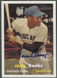 2006 Topps Heritage #EB Ernie Banks Real One Auto