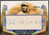 2004 SP Legendary Cuts #SW Joe Wood Auto #19/79