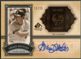 2005 SP Legendary Cuts #GN Graig Nettles Classic Careers Auto #12/25