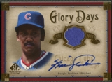 2005 SP Legendary Cuts #FJ Fergie Jenkins Glory Days Material Gold Jersey Auto #10/10