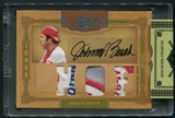 2008 Prime Cuts #14 Johnny Bench Icons Signature Materials HOF Patch Auto #2/6
