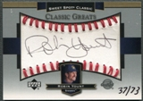 2003 Sweet Spot Classics #RY Robin Yount Black Ink Auto #37/73