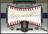 2003 Sweet Spot Classics #BW Billy Williams Black Ink Auto #156/173