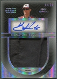 2014 Press Pass Five Star #SSKH Kevin Harvick Signature Souvenirs Holofoil Firesuit Auto #03/25