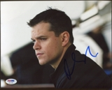 Matt Damon Auto Autographed Signed 8x10 PSA DNA