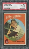 1959 Topps Baseball #11 Billy Hunter PSA 4 (VG-EX) (MC) *5699
