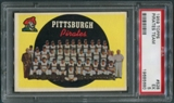1959 Topps Baseball #528 Pittsburgh Pirates Team PSA 5 (EX) *5680