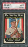 1959 Topps Baseball #125 Ron Fairly Rookie PSA 4 (VG-EX) *5691