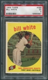 1959 Topps Baseball #359 Bill White Rookie PSA 5 (EX) *5687