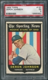 1959 Topps Baseball #131 Deron Johnson Rookie PSA 5 (EX) *5692