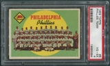1959 Topps Baseball #8 Philadelphia Phillies Team PSA 4 (VG-EX) *5684