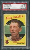 1959 Topps Baseball #295 Billy Martin PSA 4 (VG-EX) *5679