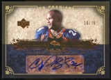 2007 Upper Deck Premier Insignias Autographs Bronze #INCB Champ Bailey /75