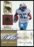 2007 Upper Deck SP Chirography #131 Michael Griffin RC Autograph /699