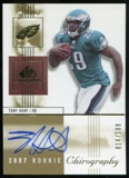 2007 Upper Deck SP Chirography #135 Tony Hunt RC Autograph /109