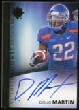 2012 Upper Deck Ultimate Collection Rookie Autographs #7 Doug Martin Autograph