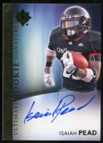 2012 Upper Deck Ultimate Collection Rookie Autographs #9 Isaiah Pead Autograph