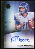2012 Upper Deck Ultimate Collection Rookie Autographs #13 Kellen Moore Autograph