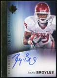 2012 Upper Deck Ultimate Collection Rookie Autographs #19 Ryan Broyles Autograph