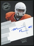 2014 Press Pass Autographs Silver #MD Mike Davis Autograph