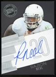 2014 Press Pass Autographs Silver #RN Rajion Neal Autograph
