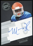 2014 Press Pass Autographs Silver #MR Marcus Roberson Autograph