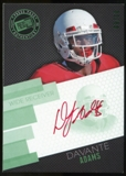 2014 Press Pass Autographs Green #DA Davante Adams Autograph 9/10