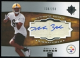 2007 Upper Deck Ultimate Collection #135 Dallas Baker RC Autograph /250