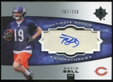 2007 Upper Deck Ultimate Collection #137 David Ball RC Autograph /250
