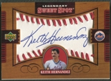 2002 Sweet Spot #KH Keith Hernandez Legendary Signatures Auto