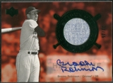2005 Upper Deck Hall of Fame #BR1 Brooks Robinson Cooperstown Calling Green Auto #12/15