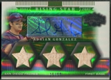 2007 Topps Triple Threads #178 Adrian Gonzalez Emerald Bat Auto #25/50