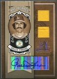 2005 Diamond Kings #91 Rollie Fingers HOF Heroes Signature Materials Gold Jersey Auto #06/25