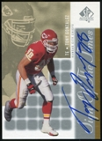 2000 Upper Deck SP Authentic Sign of the Times #GO Tony Gonzalez Autograph