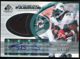 2004 Upper Deck SP Game Used Edition Authentic Fabric Autographs #RW Ricky Williams Autograph /100
