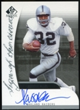 2005 Upper Deck SP Authentic Sign of the Times #SOTMA Marcus Allen Autograph
