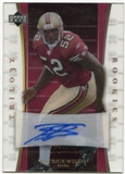 2007 Upper Deck Trilogy Rookie Autographs #168 Patrick Willis Autograph /133