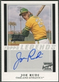 2004 Topps Legends #JR Joe Rudi Auto