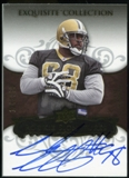 2008 Upper Deck Exquisite Collection #141 Sedrick Ellis RC Autograph /150