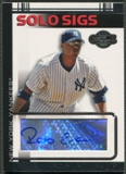 2007 Topps Co-Signers #RC Robinson Cano Solo Sigs Auto