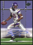 2008 Upper Deck Signature Shots #SS18 Sidney Rice Autograph
