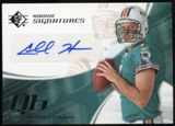 2008 Upper Deck SP Authentic Retail #142 Chad Henne RC Autograph