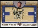 2011/12 Upper Deck SP Authentic Home Court Signatures #HCDR David Robinson Autograph