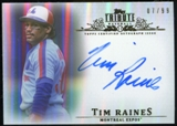 2013 Topps Tribute Autographs #TR Tim Raines Autograph /99