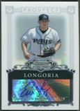 2006 Bowman Sterling #EL Evan Longoria Prospects Rookie Auto
